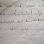 One Of My Favourite Kid-Letters