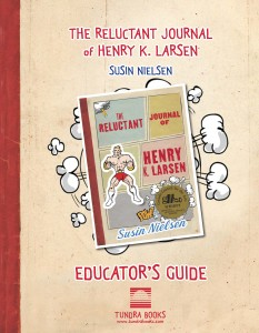 Cover from the-reluctant-journal-of-henry-k-larsen_guide