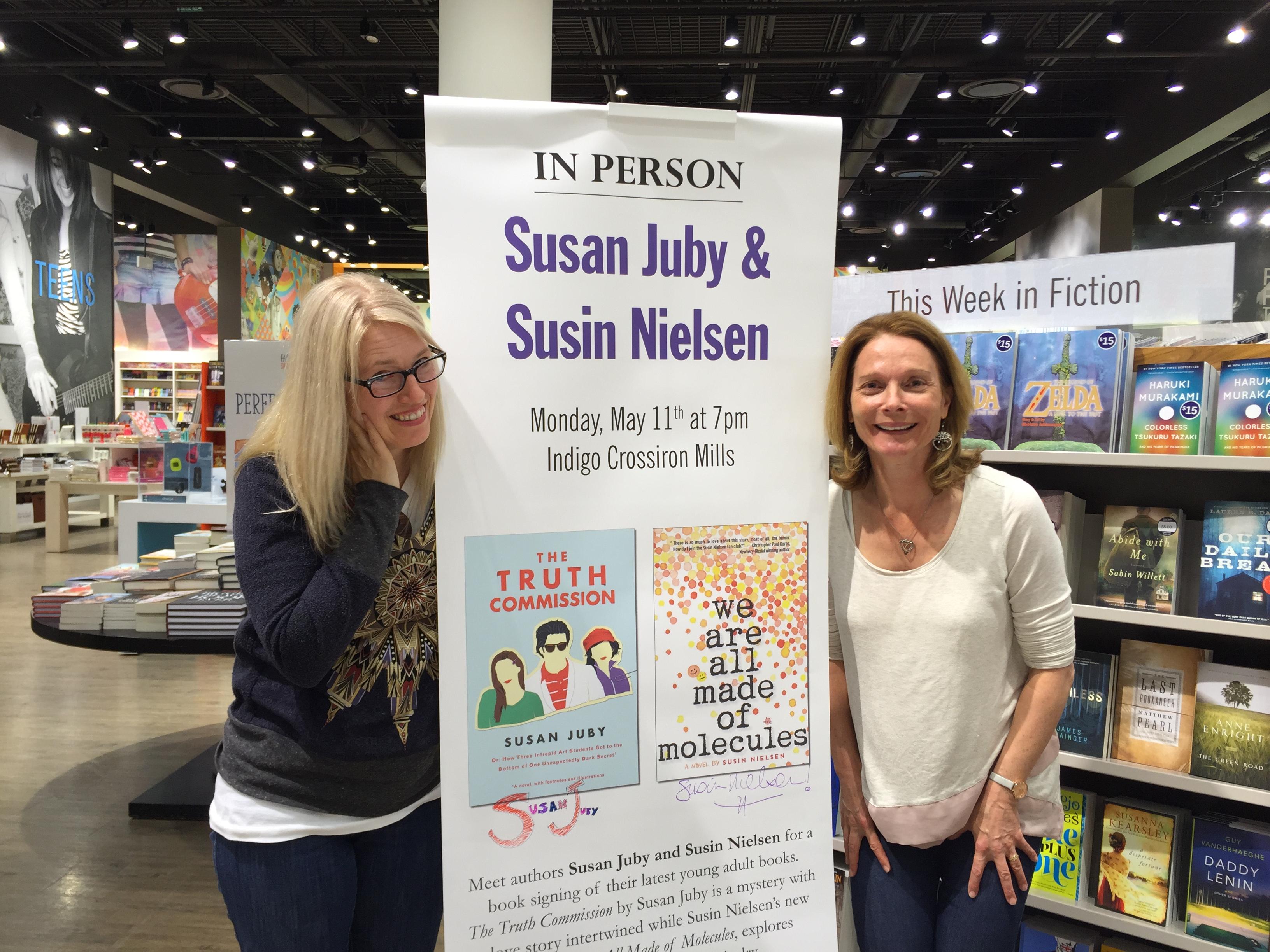 12 Author Days of Christmas - Linda Bailey and Susan Juby